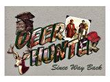Deer Hunter, Since Way Back Giclee Print by Kate Ward Thacker