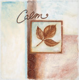 Calm Posters by Maria Woods