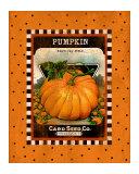 Pumpkin Seed Pack Giclee Print