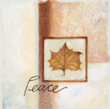 Peace Prints by Maria Woods