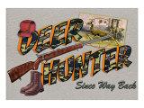 Deer Hunter Giclee Print by Kate Ward Thacker