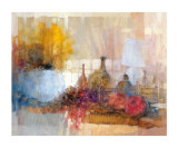 Still Life with Bottles Print by Ivano Tomasella