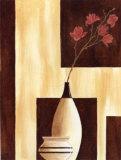 Red Magnolia Kunstdrucke von Diego Patrian