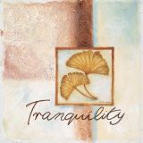 Tranquility Posters by Maria Woods