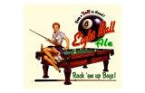 Eight Ball Ale Giclee Print