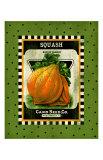 Squash Seed Pack Giclee Print