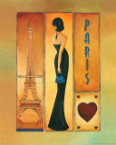 Paris Prints by M. Colbert