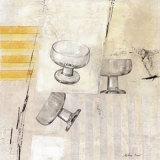 Tres Copas Prints by Antoni Dura