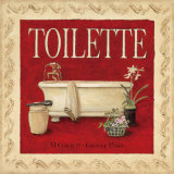 Toilette Prints by Charlene Winter Olson