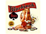 Blackjack Beer Giclee Print
