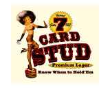7 Card Stud Premium Lager Giclée-tryk