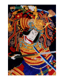 Fighting Samurai Giclee Print