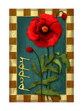 Poppy Flower Giclee Print by Kate Ward Thacker