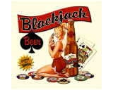 Blackjack Beer Giclee Print