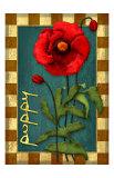 Poppy Flower Giclee Print by Kate Ward Thacker