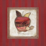 Winesap Apple Poster by Carol Robinson