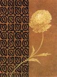 Golden Flower II Poster by Edward Donovan