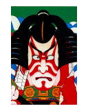 Kabuki Makeup Giclee Print