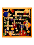 Dice, Bunco and Dominos Giclee Print by Kate Ward Thacker