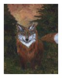 Red Fox Giclee Print by Jennifer Skalecke