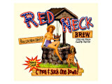 Red Neck Brew Giclee Print
