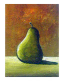 Green Pear Giclee Print by Theresa Lucero