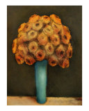 Yellow Buds Giclee Print by Cristi B.