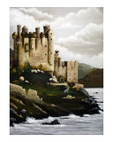 Adkins Castle Giclee Print by Theresa Lucero
