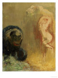 Andromeda and the Monster Prints by Odilon Redon