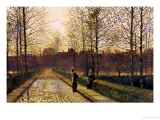 In the Golden Gloaming Giclee Print by John Atkinson Grimshaw