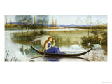 The Enchanted Boat Poster by Walter Crane