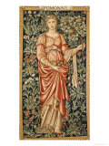 Pomona Poster by Edward Burne-Jones
