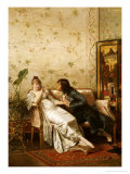 An Amorous Advance Giclee Print by Charles Joseph Frederic Soulacroix