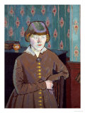 Miss Ruth Doggett Giclee Print by Harold Gilman