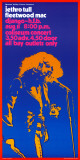 Jethro Tull and Fleetwood Mac in Concert, 1972 Posters af Bob Masse