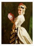 The Flirt Giclee Print by Alexander Johnston
