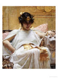 Cleopatra Giclee Print by John William Godward