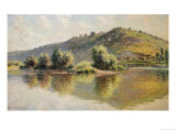 The Seine at Port-Villez Giclee Print by Claude Monet