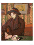 Girl with a Teacup Giclee Print by Harold Gilman