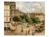 Place De La Trinite Prints by Pierre-Auguste Renoir