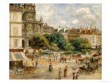 Place De La Trinite Posters by Pierre-Auguste Renoir