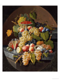 Still Life with Fruit Posters by Severin Roesen
