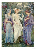Ensigns of Spring Giclee Print by Walter Crane