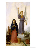 The Annunciation Giclee Print by William Adolphe Bouguereau