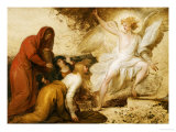 The Women at the Sepulchre; or the Angel at the Tomb of Christ Premium Giclee Print by Benjamin West