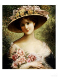 The Fancy Bonnet Kunstdrucke von Emile Vernon
