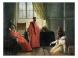 Valenza Gradenigo Before the Inquisition Prints by Francesco Hayez