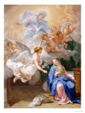 The Annunciation Prints by Giovanni Odazzi