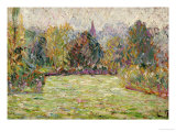 Bazincourt Countryside Poster by Camille Pissarro