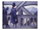 Le Pont De L&#39;Europe Giclee Print by Gustave Caillebotte